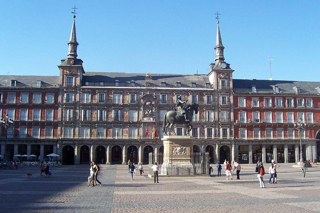 Plaza Mayor din Madrid1