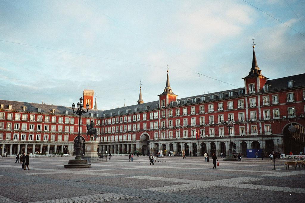 Plaza Mayor din Madrid111