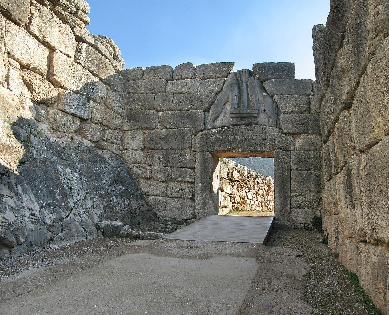 Poarta Leilor din Micene