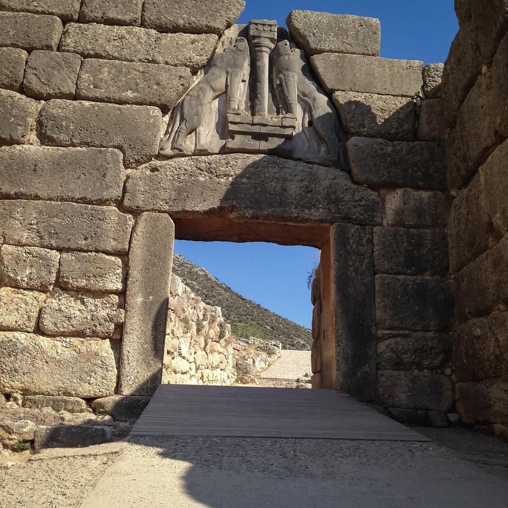 Poarta Leilor din Micene11