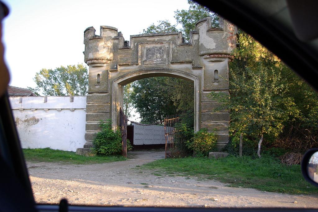 Poarta spate Castelul Banloc
