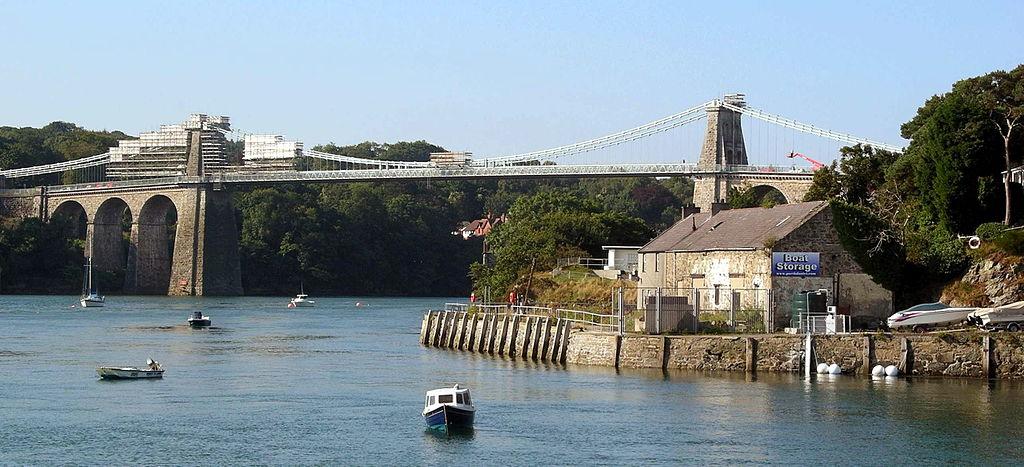 Podul Suspendat Menai1
