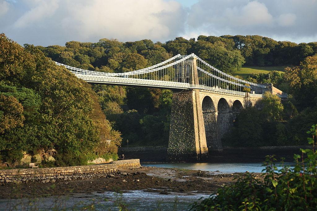 Podul Suspendat Menai11