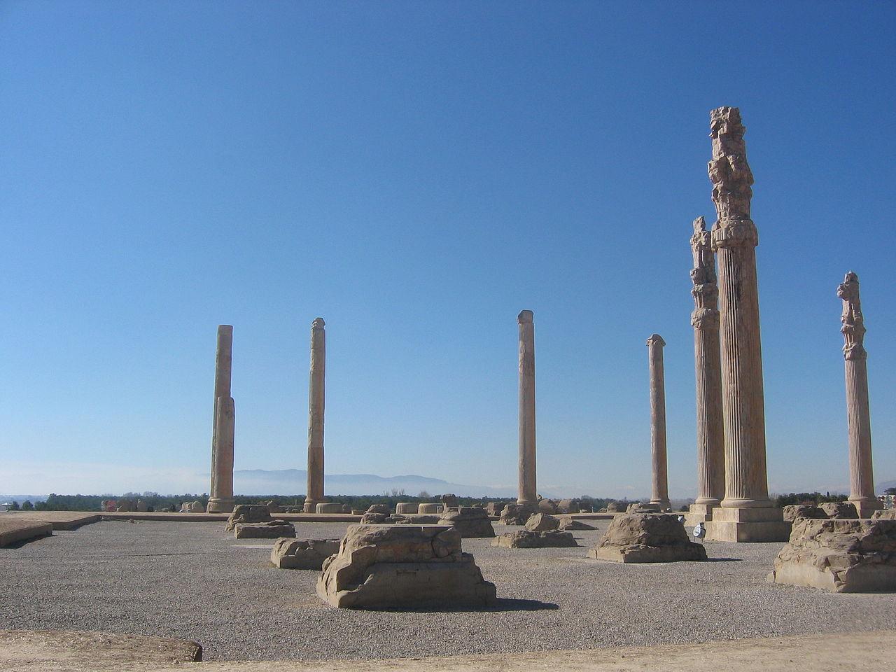 Ruinele orasului Persepolis111