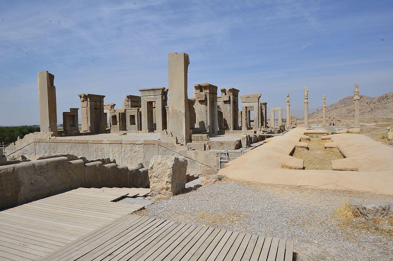 Ruinele orasului Persepolis1111