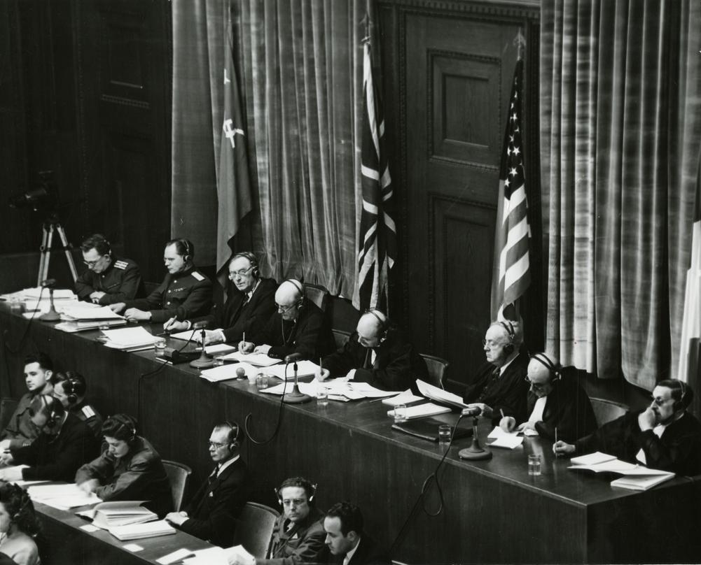 Sala procesului de la Nurnberg11