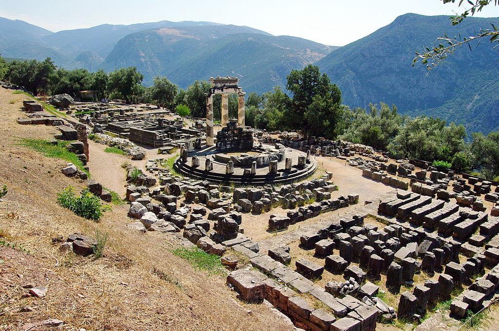 Sanctuarul Atenei Pronaea1
