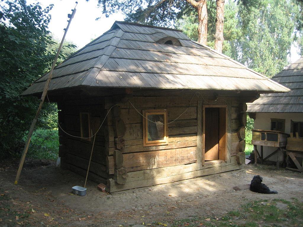 Satul Bucovinean casa