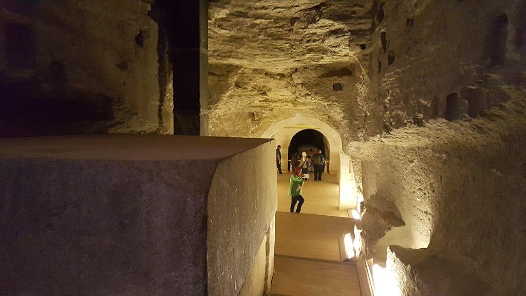 Serapeum din Memphis catacombe