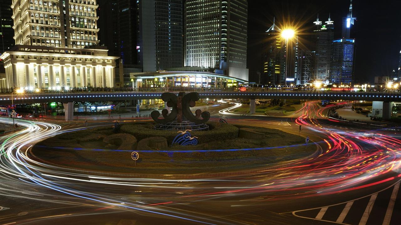 Shanghai oras comercial