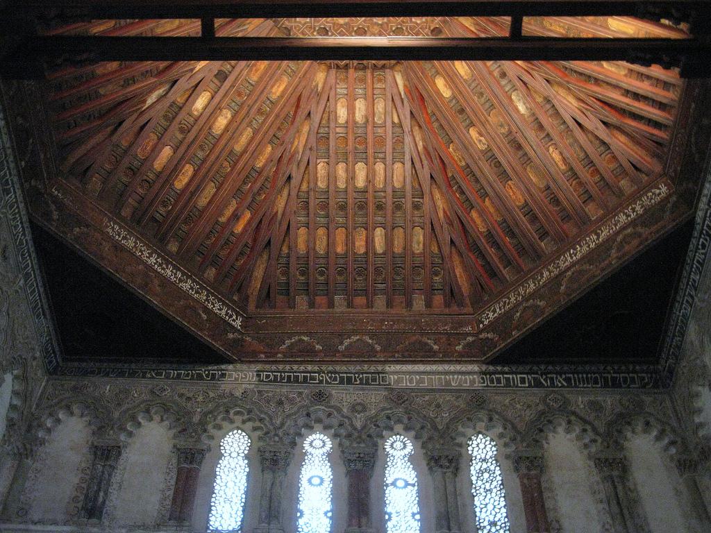 Sinagoga del Transito tavan