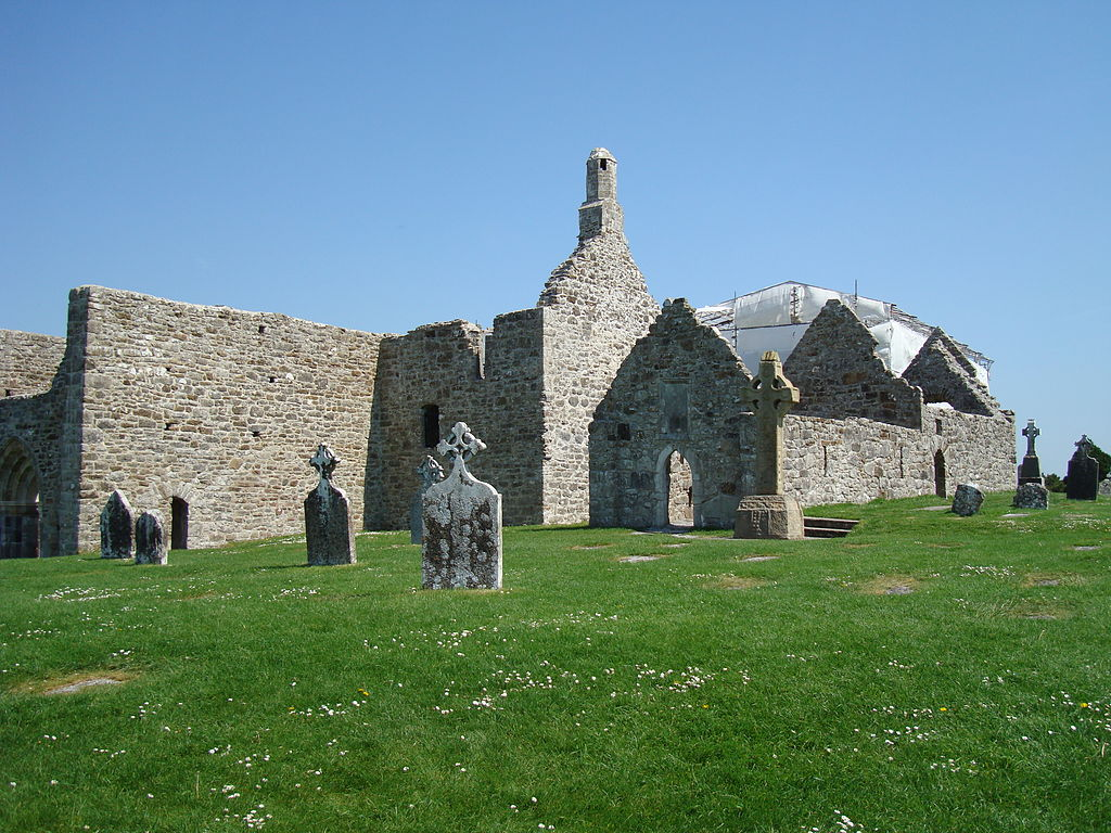 Situl monastic Clonmacnoise Catedrala