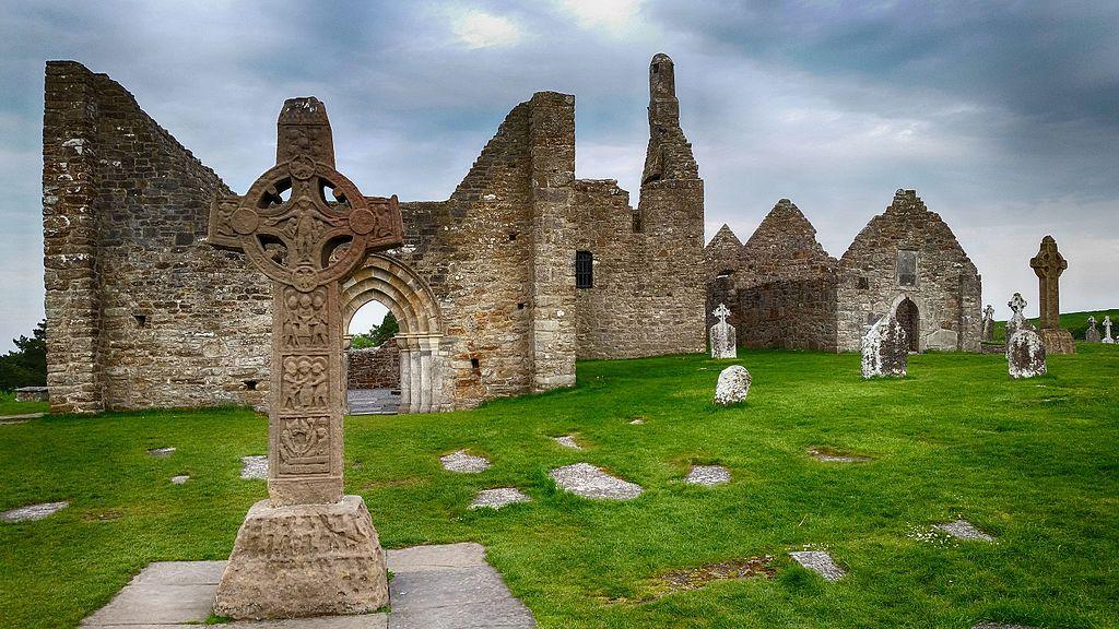 Situl monastic Clonmacnoise