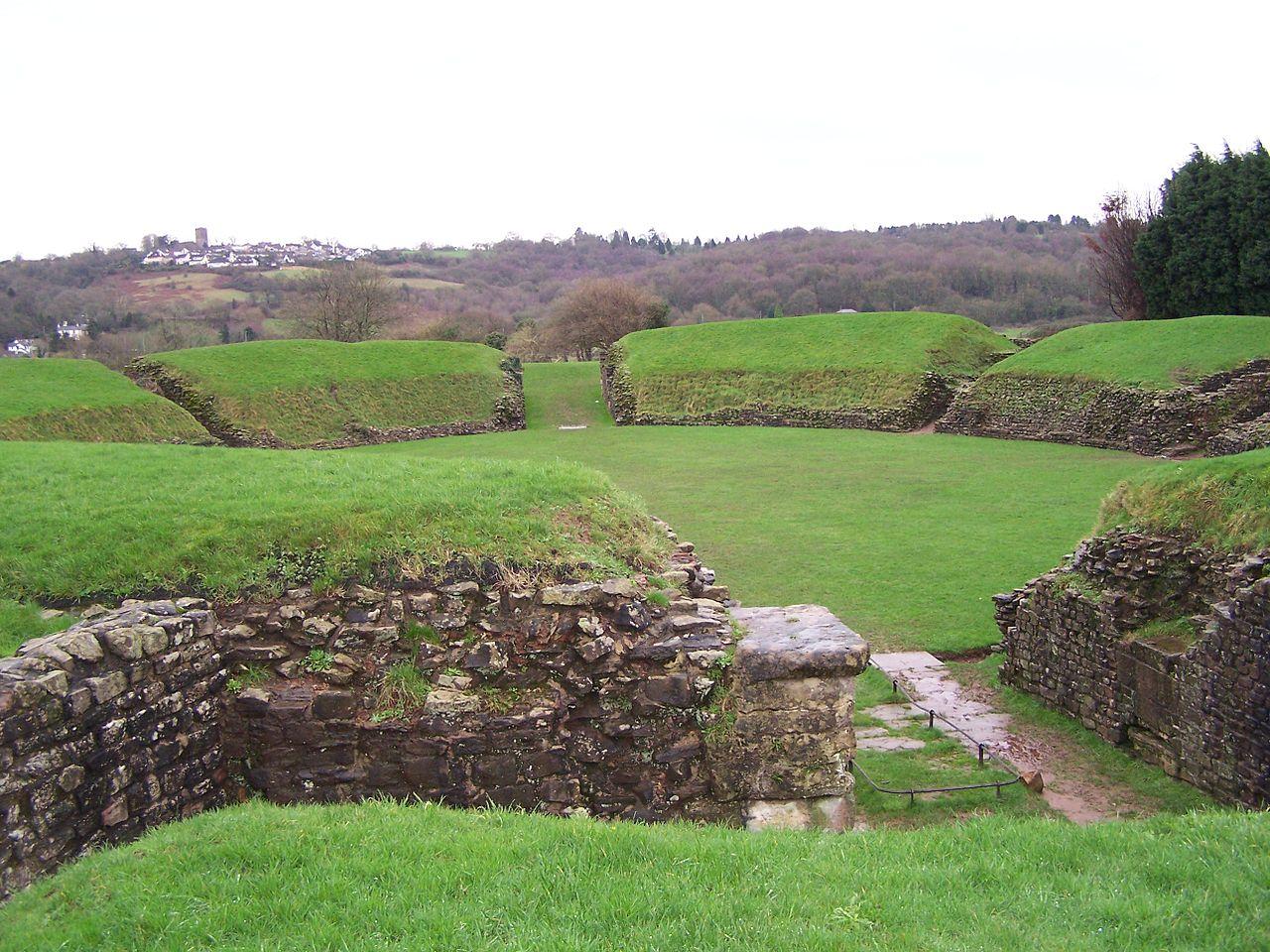 Situl roman Caerleon1