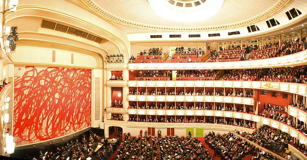 Staatsoper – Opera de Stat din Viena sala de spectacol