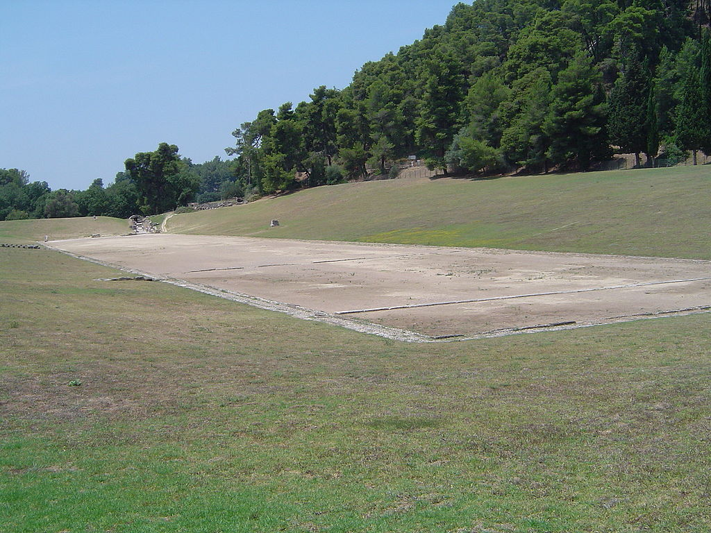 Stadionul antic de la Olympia