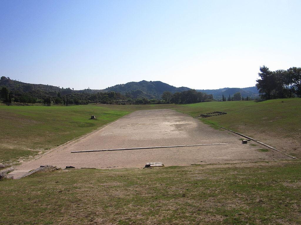 Stadionul antic de la Olympia111