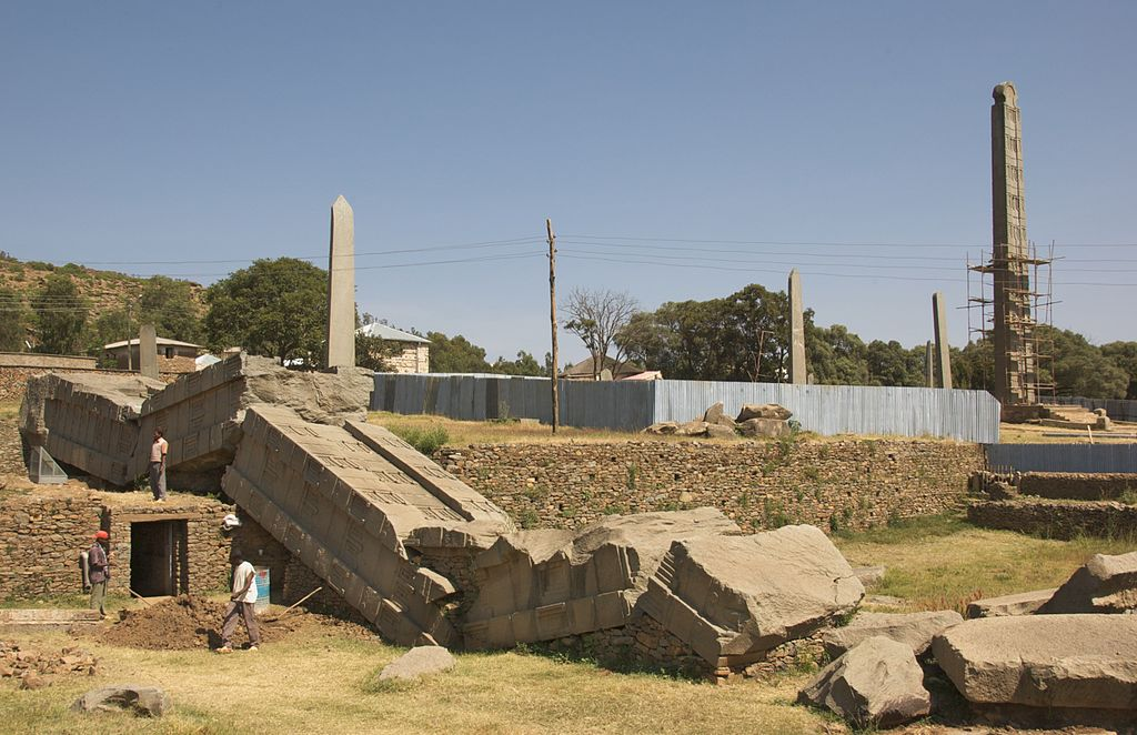 Stelele de la Aksum1