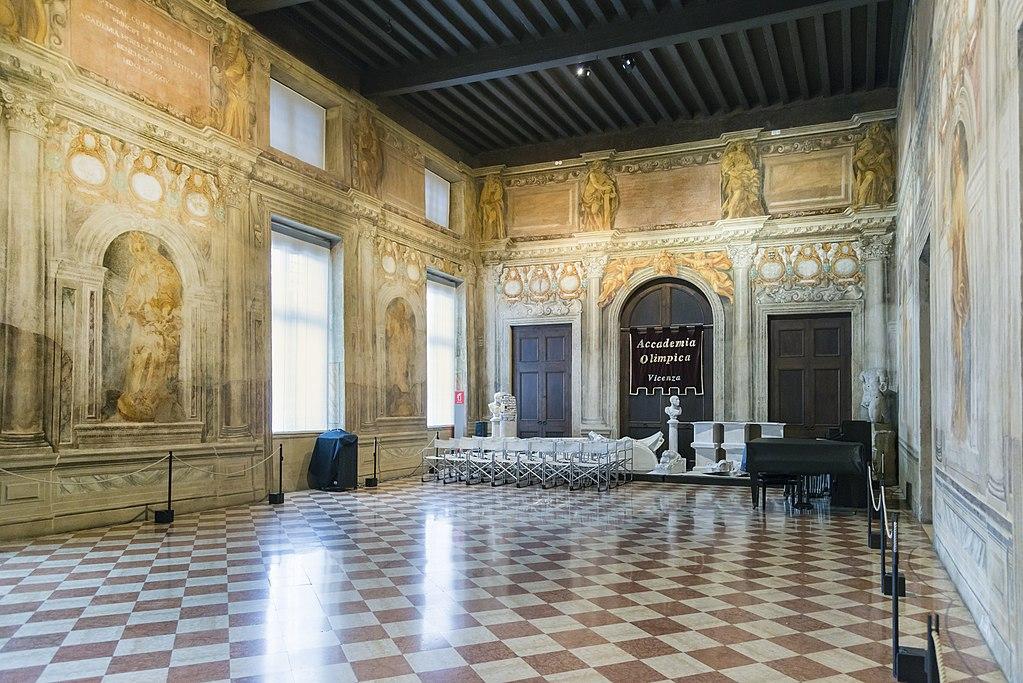 Teatro Olimpico din Vicenza1