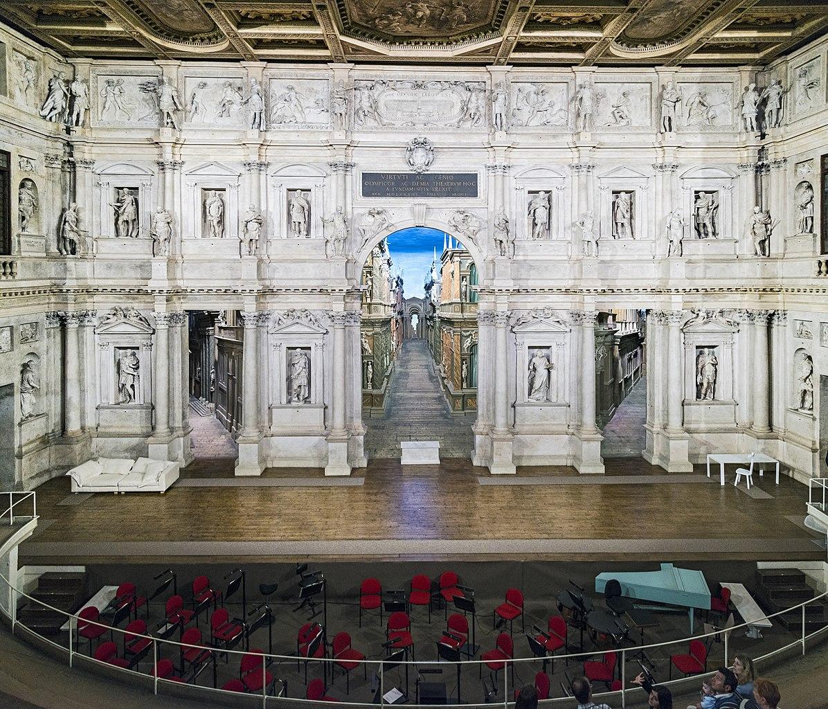 Teatro Olimpico din Vicenza11