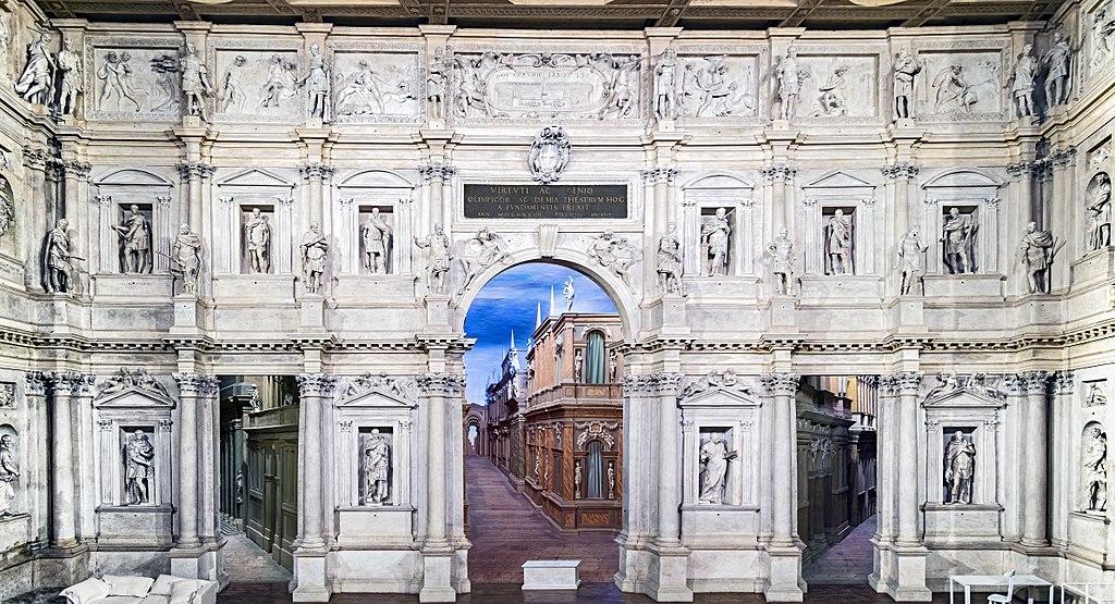 Teatro Olimpico din Vicenza1111