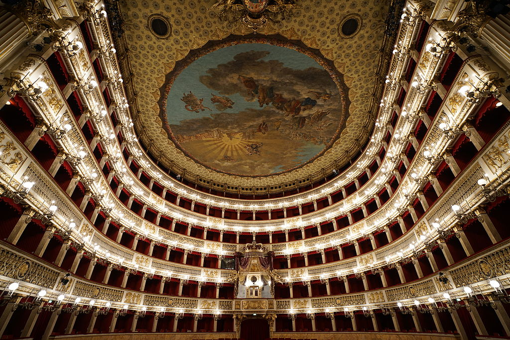 Teatro di San Carlo interior