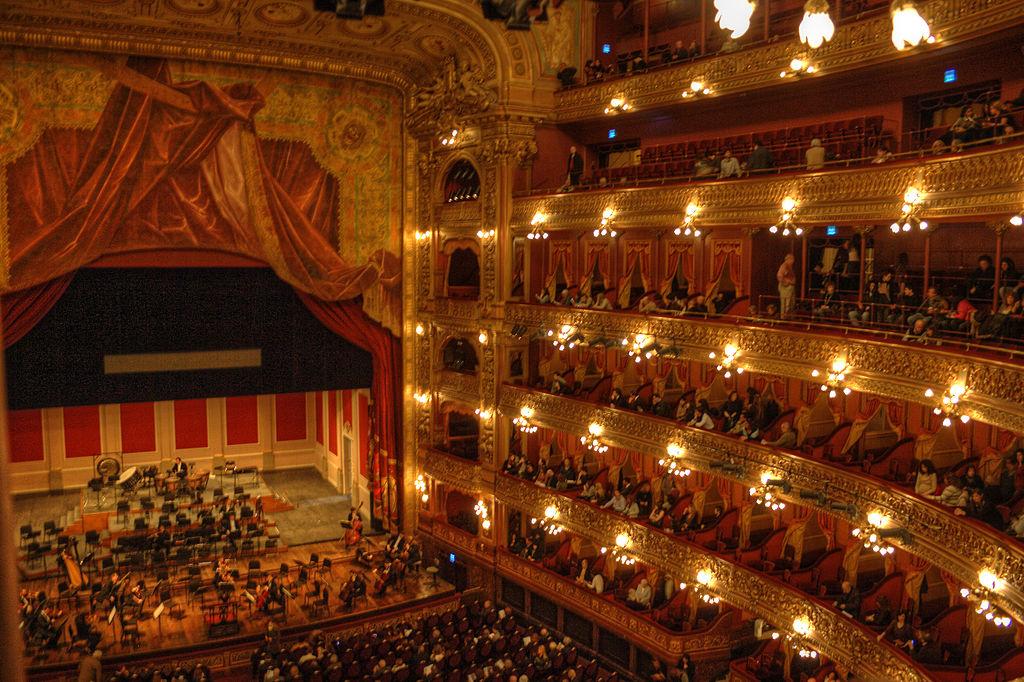 Teatrul Colon din Buenos Aires111
