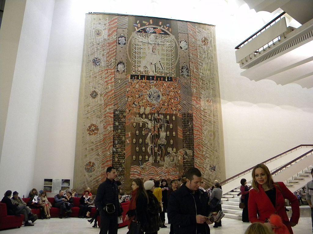 Teatrul Naţional Bucureşti hol intrare