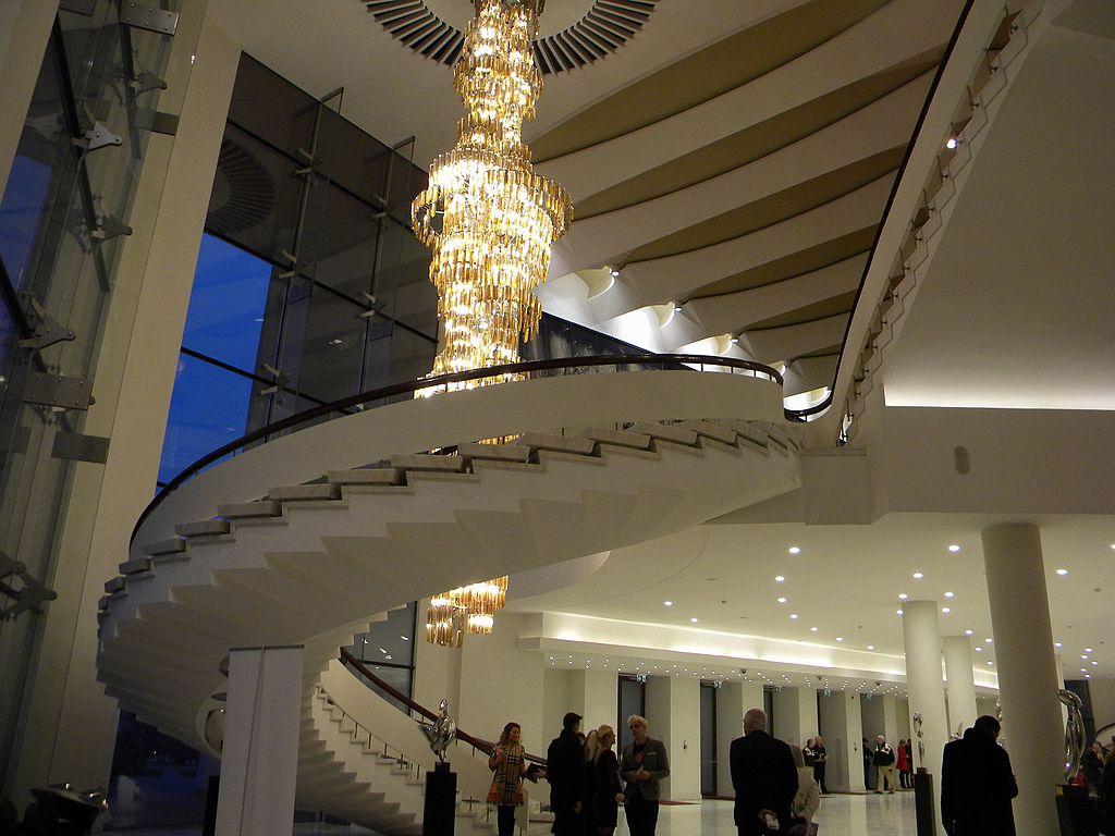 Teatrul Naţional Bucureşti interior