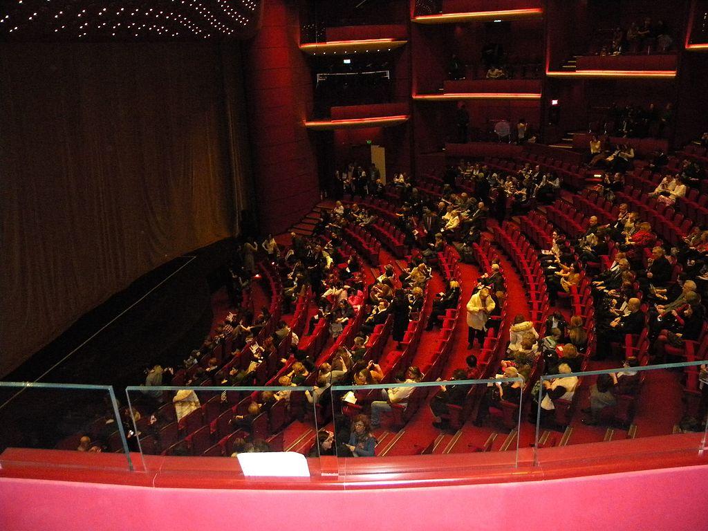Teatrul Naţional Bucureşti sala mare