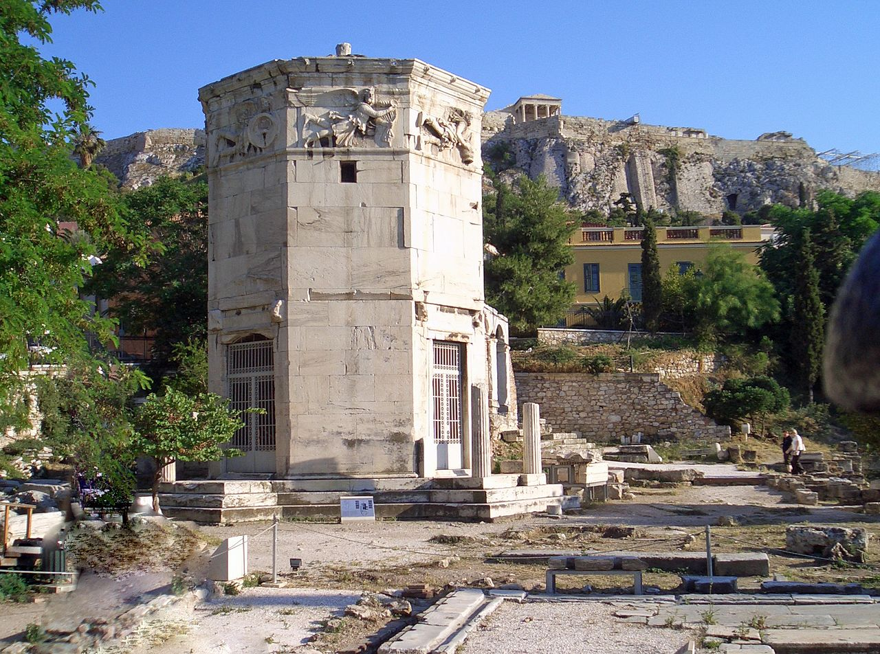 The wind tower in Athens