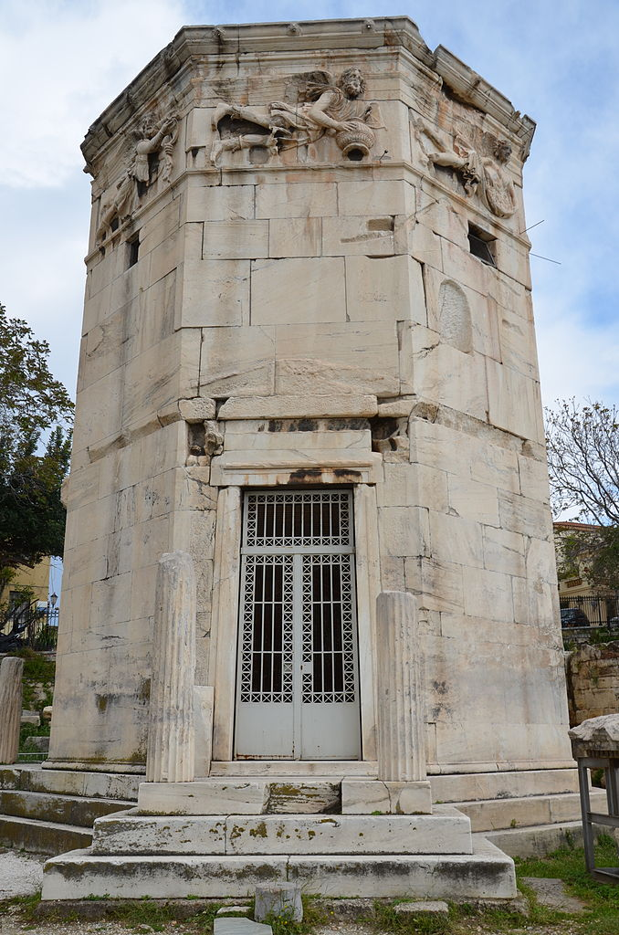 The wind tower in Athens11