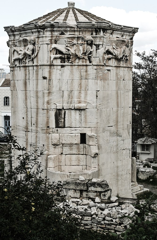 The wind tower in Athens111