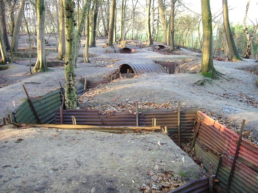 Transeele din Primul Razboi Mondial - Ypres