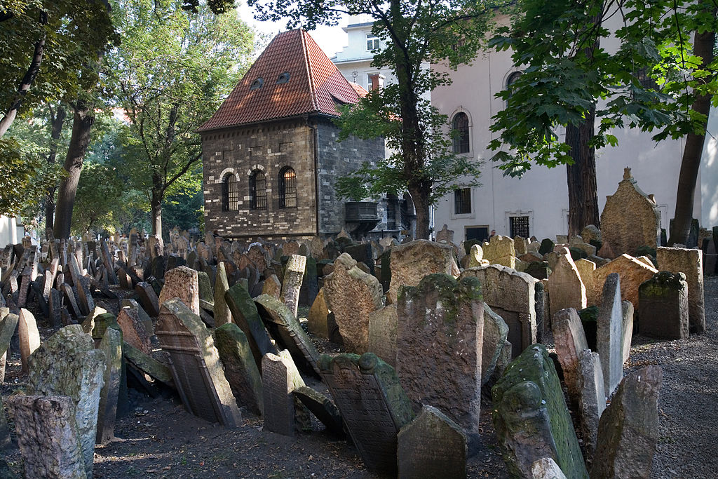 Vechiul cimitir evreiesc din Praga
