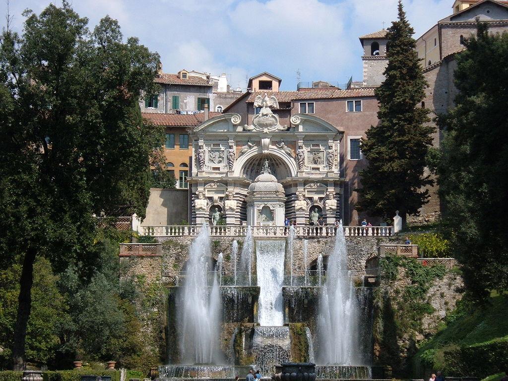 Villa d'Este din Tivoli111