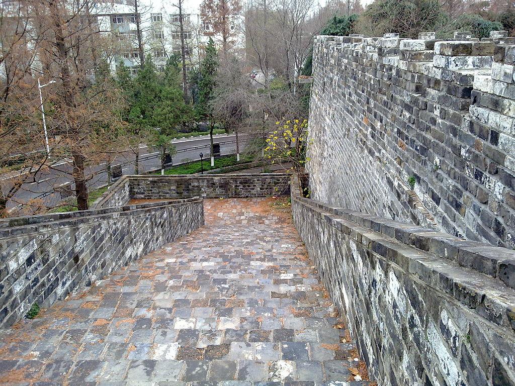 Zidul Ming al orasului Nanjing11
