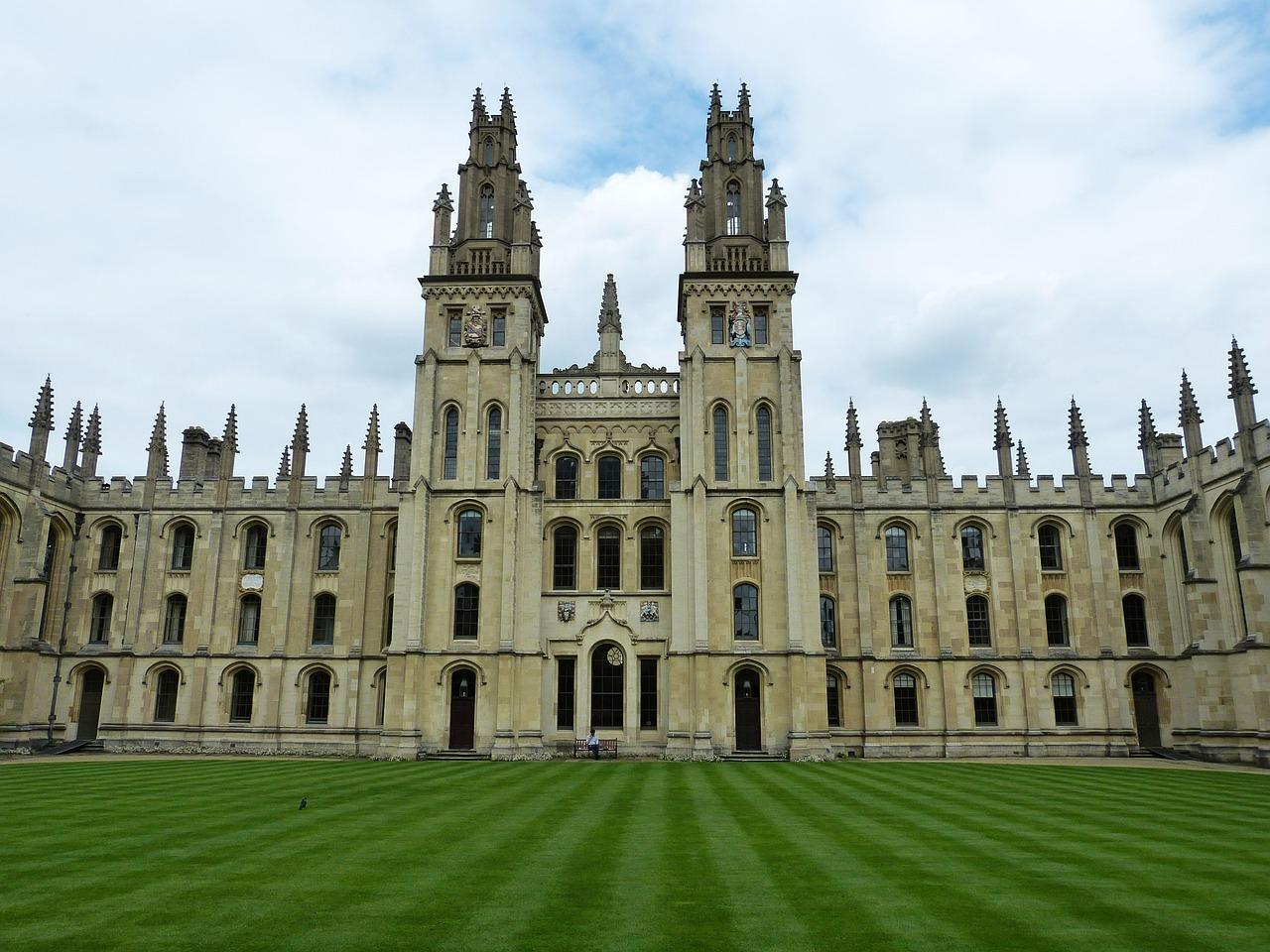 arhitectura veche Oxford