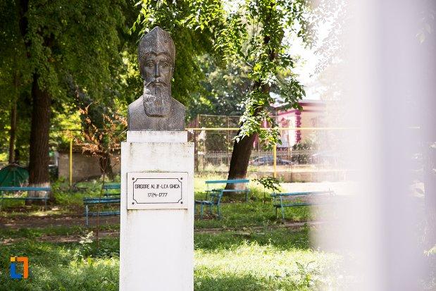 imagine-cu-bustul-lui-grigore-al-ii-lea-ghica-din-dorohoi-judetul-botosani.jpg