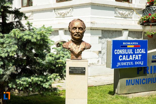 imagine-cu-bustul-lui-sima-pasaretz-din-calafat-judetul-dolj.jpg