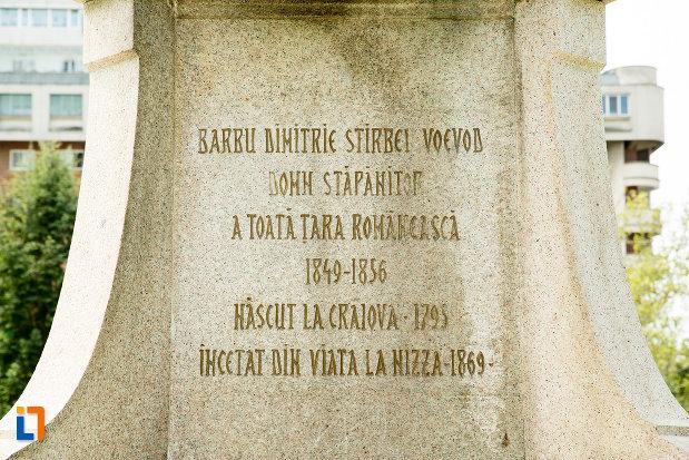 inscriptie-de-pe-statuia-lui-stirbei-voda-din-craiova-judetul-dolj.jpg