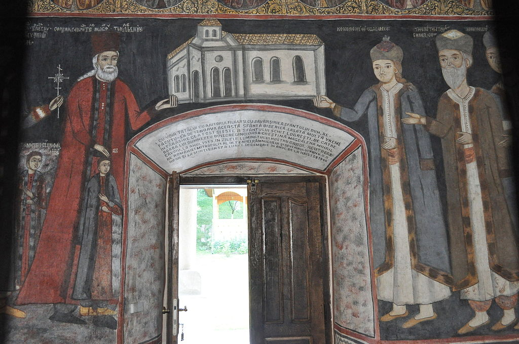 interior Manastirea Logresti