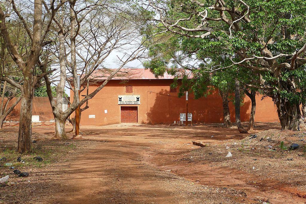 intrare Muzeul de Istorie Abomey