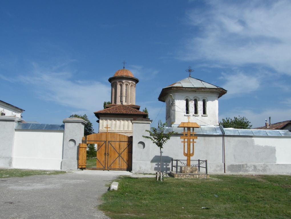 intrarea in Manastirea Plataresti