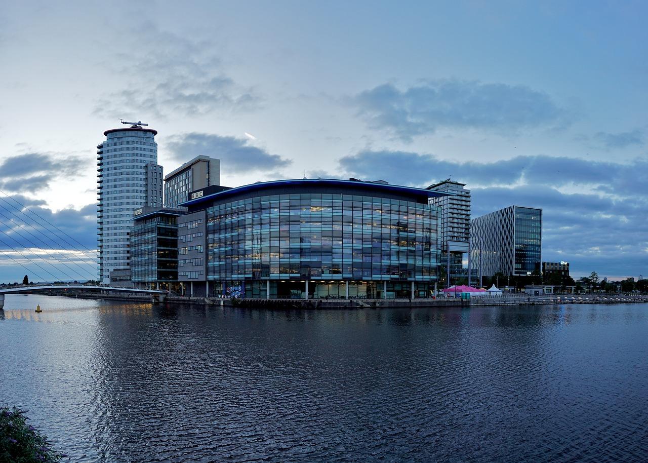 orasul modern Manchester