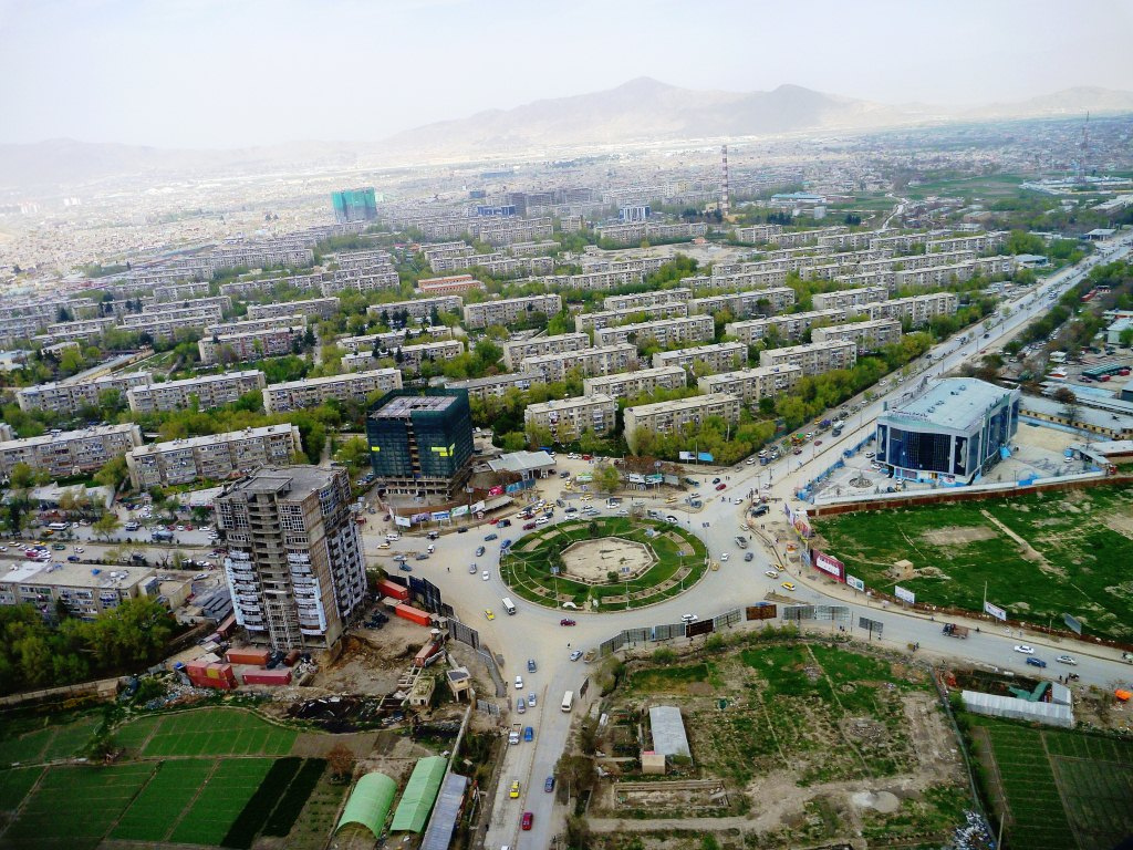 panorama Kabul