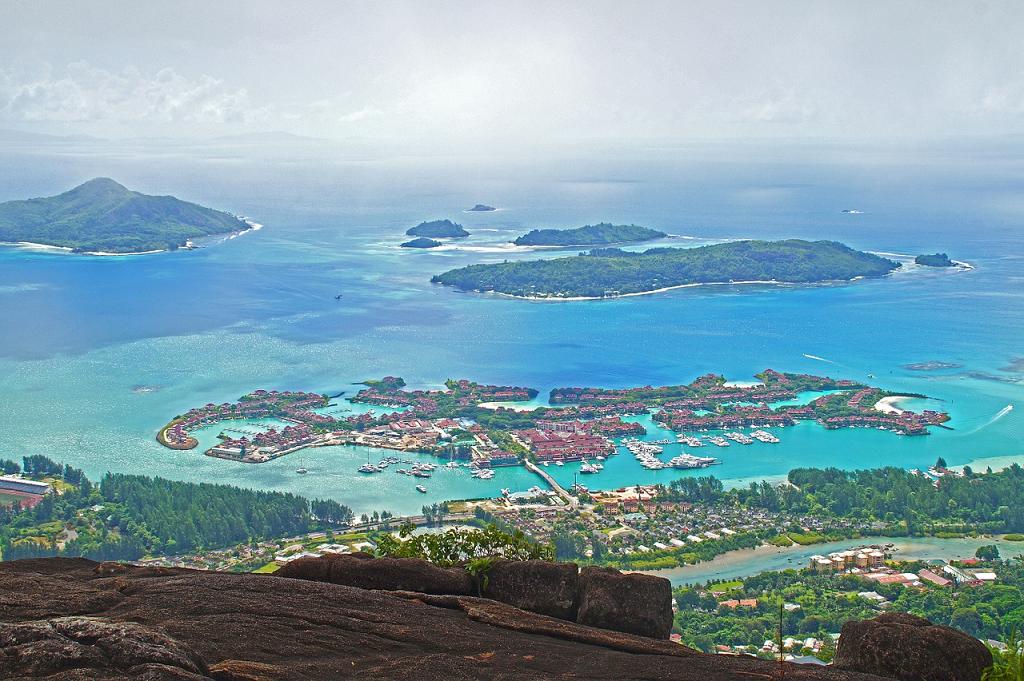 panorama Seychelles