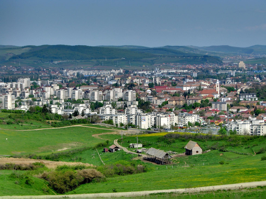 panorama Targu Mures