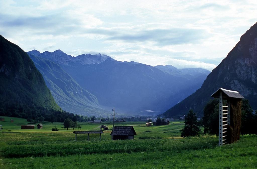 panorama munti Slovenia