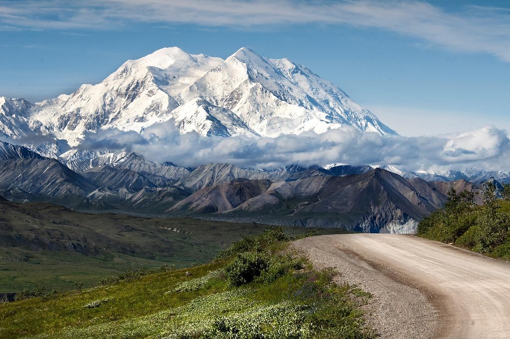 peisaj America munti